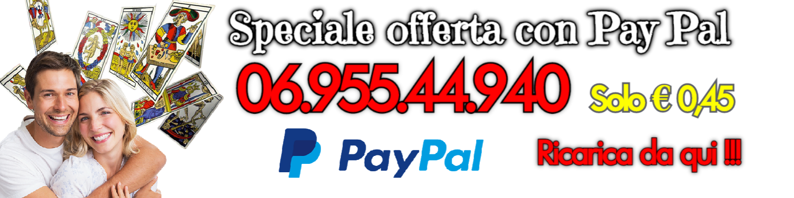 cartomanzia amore pay pal